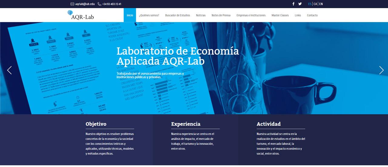 La teva web dise o web para la universidad de barcelona for Diseno de interiores barcelona universidad