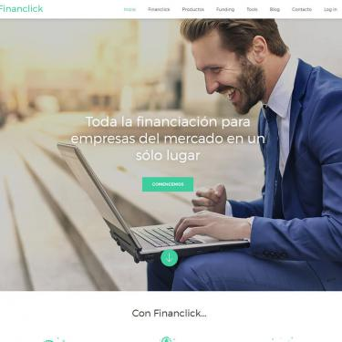 Plan de marketing online para Financlick