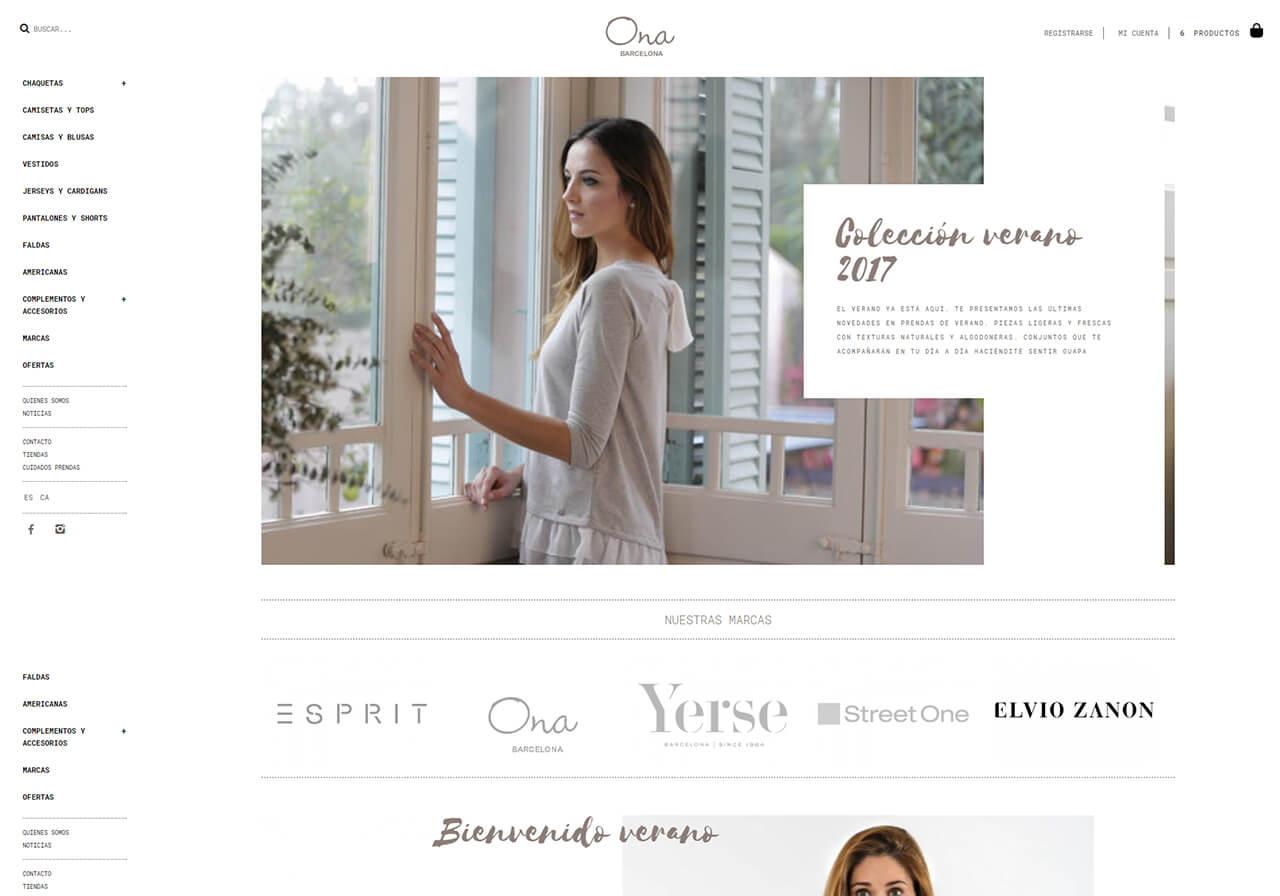 9ea36b5f0 Ona BCN  Diseño web