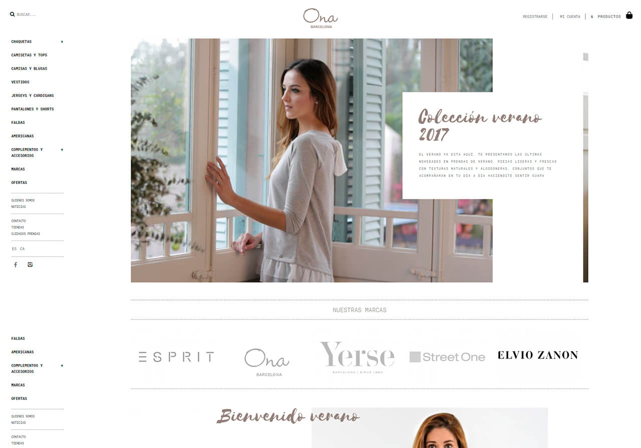 ropa Barcelona online