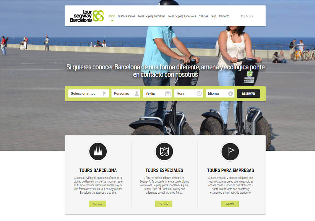 Diseño web y marketing online para Ecomovingrent