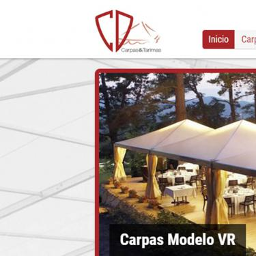 Redisseny web de CD Carpas