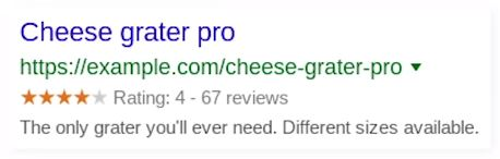 snippet reviews google