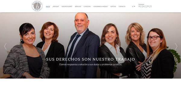 Web abogados Barcelona