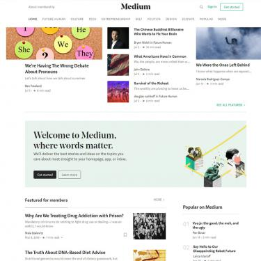 Two new social networks: Medium & Branch