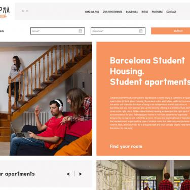 Online marketing plan for Barcelona Student Housing
