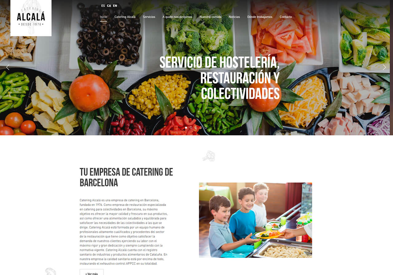 New SEO Client: Catering Alcalá