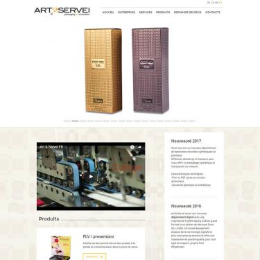 International SEO campaign for Art & Servei