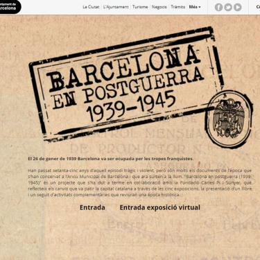 Web Design for the City of Barcelona