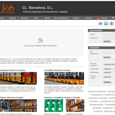 Cl-bcn's website redesign