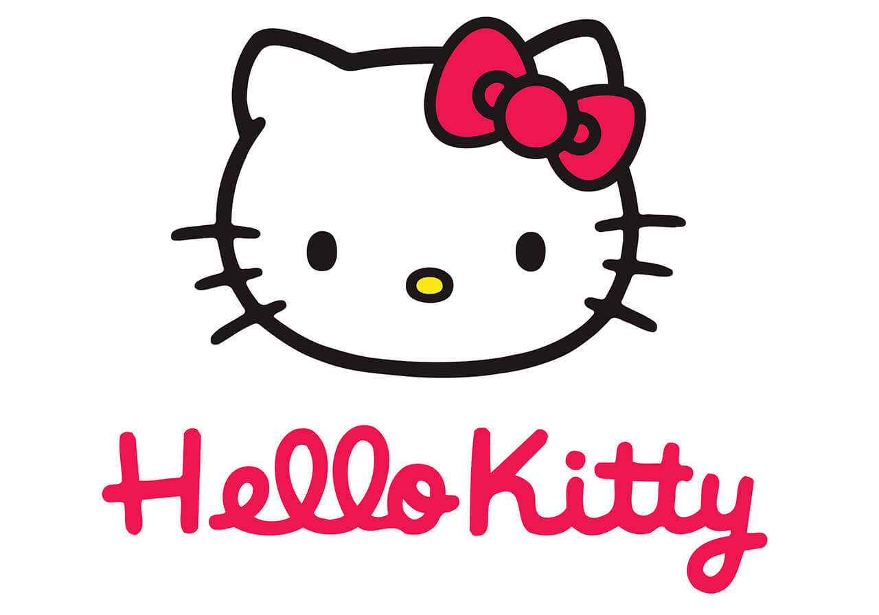 Web design of the official online store of Hello Kitty