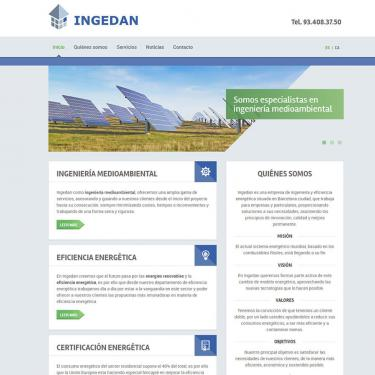 Web design and online marketing for Ingedan