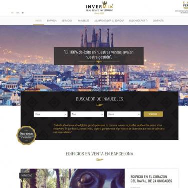 Web design and SEO for Invermix