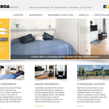 New web design: Living Lisboa