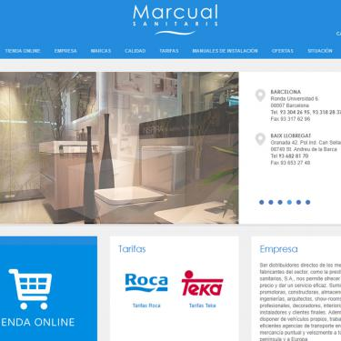 New web design for Marcual