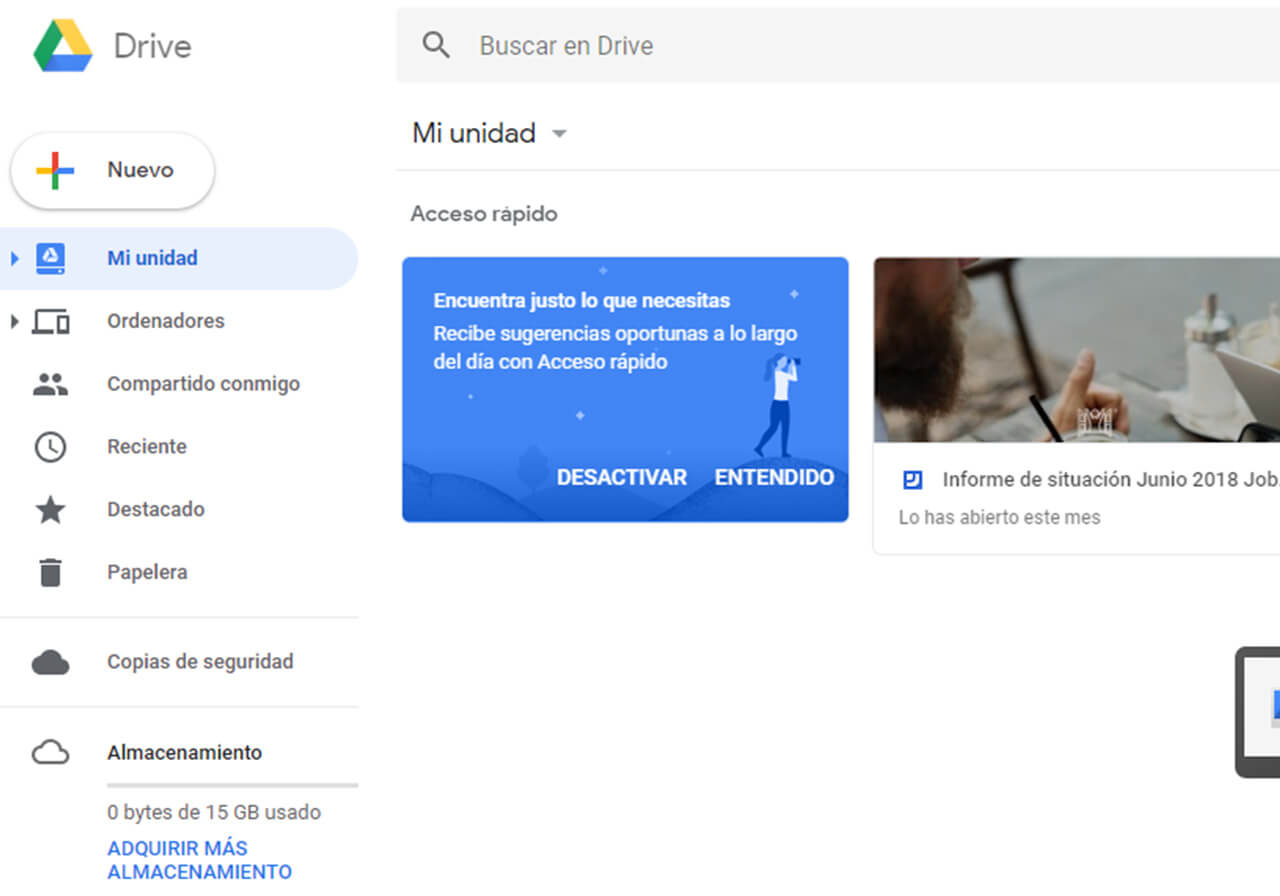 Google Drive is already a reality