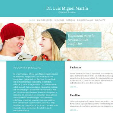 Web design and online marketing for Psychiatry Barcelona