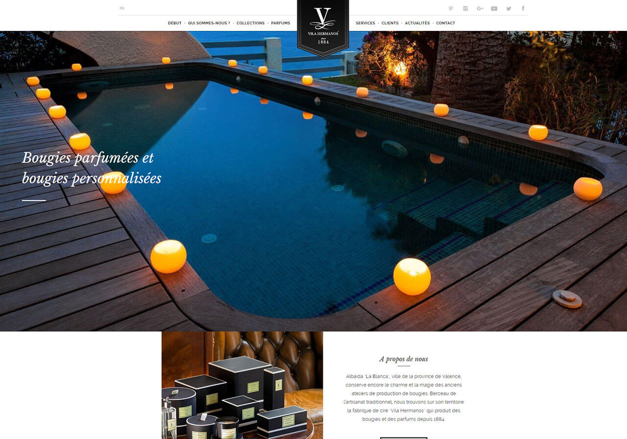 Vila Hermanos launches new websites in the UK and France