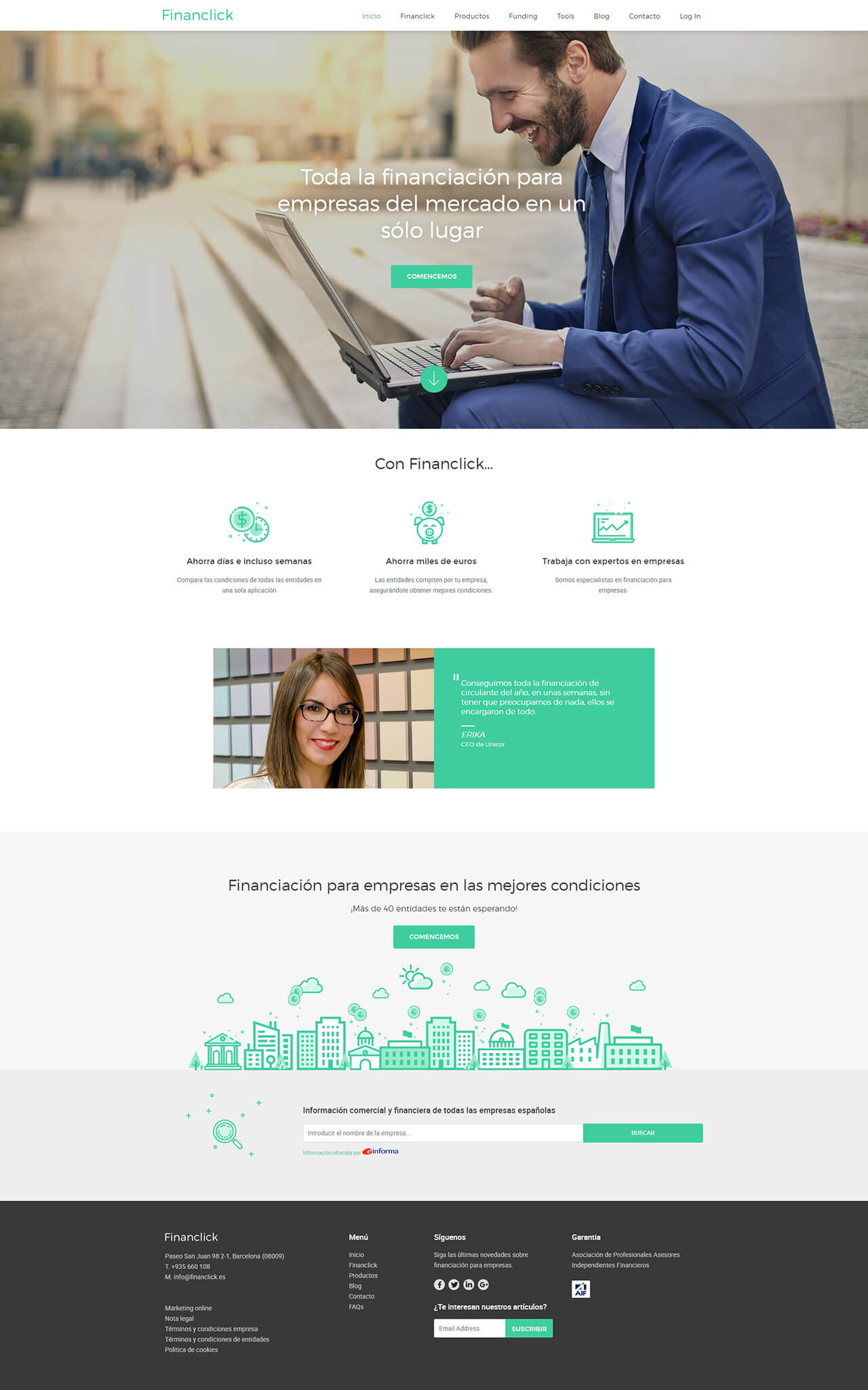 web design financlick